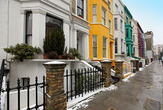 Street residential Royalty Free Stock Photo