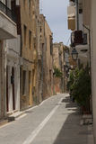 The street in Rethymno Royalty Free Stock Photo
