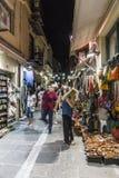 Street in Rethymno Royalty Free Stock Photo