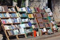 Street Retro Books Market, Havana Royalty Free Stock Photography