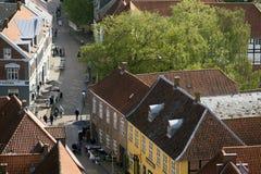 Street from Ribe Stock Photos