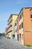 Street in Rimini. Royalty Free Stock Image