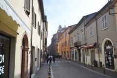 Street in Rimini. Royalty Free Stock Photo