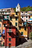 Street in Riomaggiore Royalty Free Stock Photos