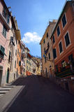 Street in Riomaggiore Royalty Free Stock Image