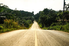 Street and Road. Royalty Free Stock Photos
