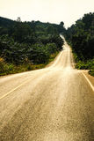 Street and Road. Royalty Free Stock Photography