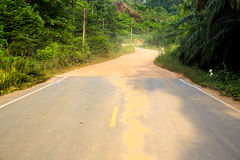Street and Road. Royalty Free Stock Photo