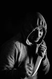 Street robber Royalty Free Stock Photography