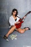 Street Rocker Royalty Free Stock Photos