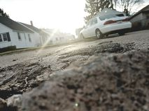 Street rocks Royalty Free Stock Image