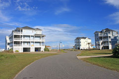 Street in Rodanthe Stock Images