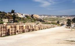 Street in the Roman ruins Stock Photos