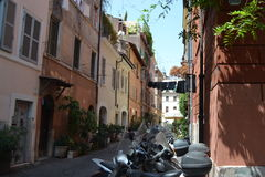 Street in Rome Royalty Free Stock Image