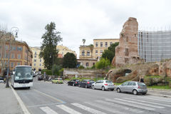 Street in Rome city Stock Photography