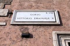 Street in Rome Stock Image