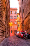 Street in Rome downtown Stock Photography