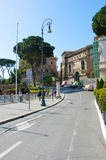 Street in Rome, Italy. Street in Rome, ancient roman center, Italy Stock Image