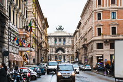 Street in Rome Royalty Free Stock Photos