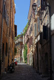 Street of Rome italy Royalty Free Stock Images