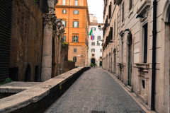 Street of Rome Royalty Free Stock Photos