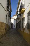 Street of Ronda Royalty Free Stock Image