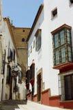 Street in Ronda, Spain Stock Photo