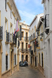 Street in Ronda, Spain stock image