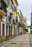 Street in Ronda, Spain Stock Photography