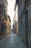 Street in Rovinj Royalty Free Stock Image