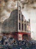 Street rubble royalty free illustration