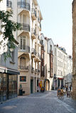 Street Rue des Echevins in Nantes, France Stock Photos