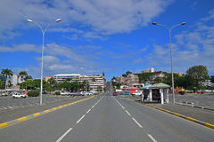 Street Rue Georges Clemenceau at Noumea, New Caledonia Stock Images