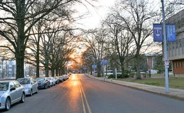 The University of Memphis. The Main campus of the University of Memphis in Tennessee Stock Photography