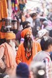 A Street Sadhu Stock Images