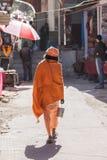 A street sadhu Royalty Free Stock Photo