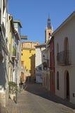 Street in Sagunto. Valencian Community Royalty Free Stock Image