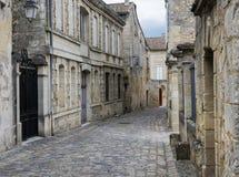 Street in Saint-Emilion Royalty Free Stock Photos
