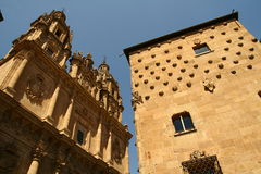 Salamanca. Street in Salamanca in central Spain Stock Photography