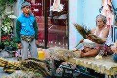 Street salesman in Hua Hin, Thailand Stock Photography