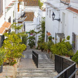 Street in Salobrena in Andalusia Royalty Free Stock Photography