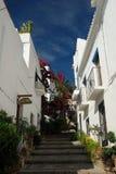 Street in Salobrena, Spain Stock Photography