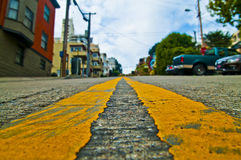 Street of  San Francisco Royalty Free Stock Photography