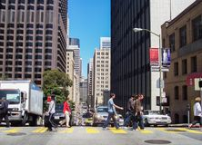 street in San Francisco Royalty Free Stock Photo
