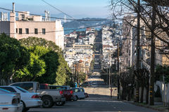 The street of San Francisco Royalty Free Stock Photography
