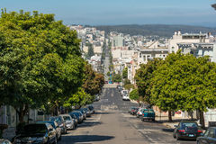 Street in San Francisco Stock Photography