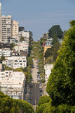 The street in San Francisco Royalty Free Stock Image