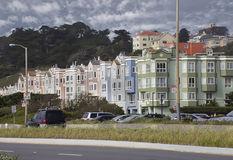 Street in San Francisco Royalty Free Stock Images