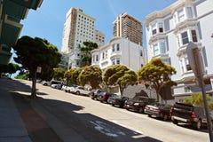 Street in San francisco Stock Image