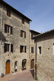 Street of San Gimignano Royalty Free Stock Photo